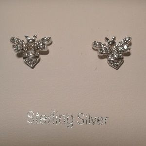 Sterling Silver Bumblebees